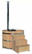 Купель Фурако 200см с подогревом + погружная дровяная печь