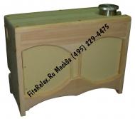 Парогенератор для кедровой фитобочки накопительный ПГН 2.0 кВт в кожухе из кедра