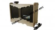 Парогенератор для кедровой фитобочки накопительный ПГН 2.0 кВт в кожухе
